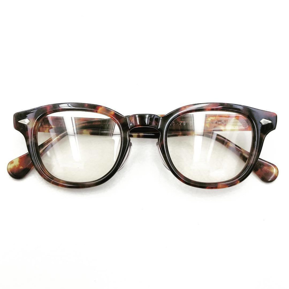 TART OPTICAL ARNEL®︎ WALNUT 50's model
