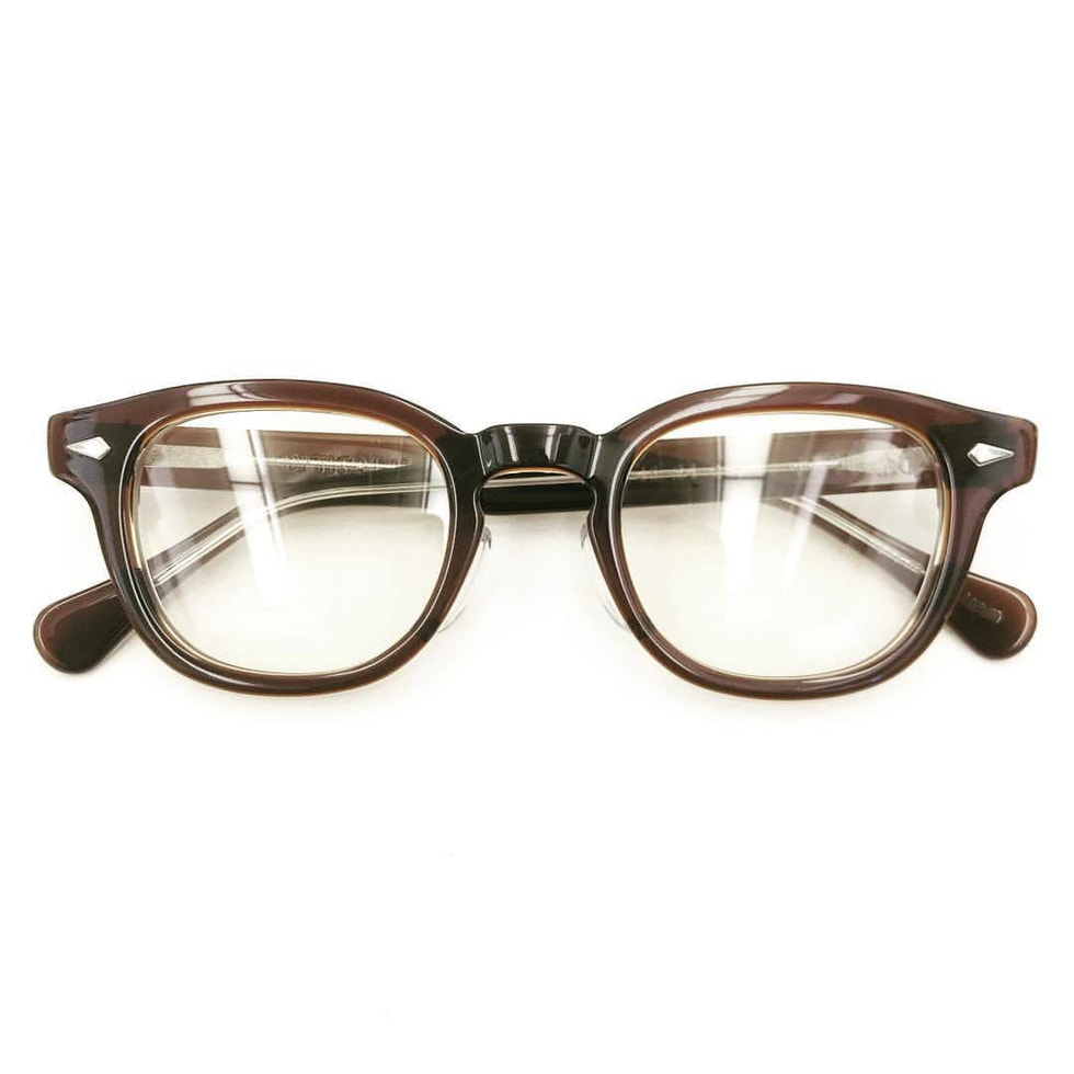TART OPTICAL ARNEL®︎ BROWN CLEAR 50's model